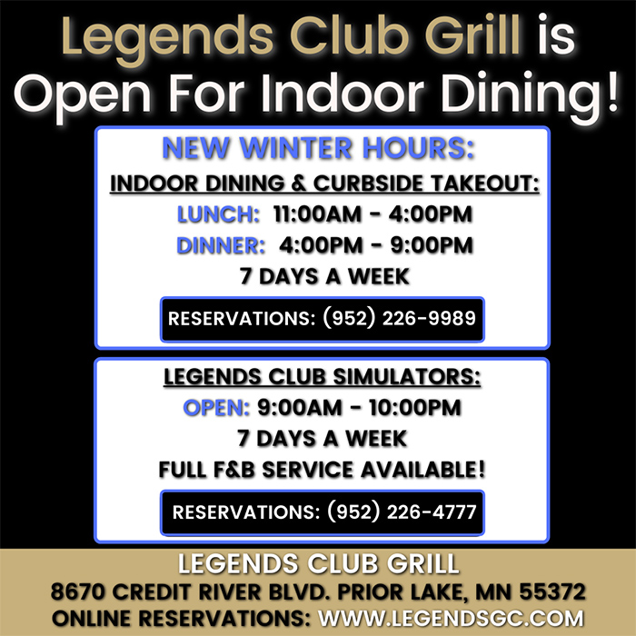 Now Open For In Person Dining 1.13